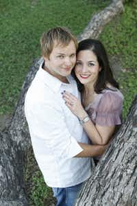 Facebook proved to be important in getting Dena Blum and Steven Latham together. They will be married on May 25.