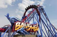 This undated image provided by Kings Island amusement park in Kings Island, Ohio, near Cincinnati, shows the recently opened Banshee roller coaster. Its named for a wailing mythological messenger from the underworld and includes a 167-foot lift hill and a 150-foot curved first drop.Don Helbig  -  AP