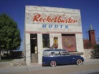 Rocketbuster Boots, El Paso