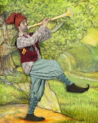 Brian Hathaway appears in 'The Pied Piper's Magic,' presented by Dallas Children's Theater.