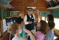 __ Caption: Costumed motormen lead guests through a tour of the museum and Rail Car #360 at the Interurban Railway Museum in Plano. Email: esackett@dallasnews.com Phone: 940-395-1300 OrigName: 1331145783_0867723001331145783_1.jpg Name: motormen+posters+jpeg.jpg Byline: Interurban Railway Museum, Plano Submitter: Ellen Sackett Timestamp: 2012-03-07 12:43:03 Section: GUIDE_NG