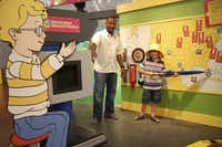 The Magic School Bus Kicks Up a Storm exhibit features special weather-related activities for kids.