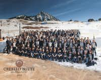 Montgomery Coscia Greilich LLP employees, spouses and clients gathered for a ski trip in Crested Butte.
