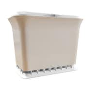 Fresh Air Odor-Free Kitchen Compost Collectors let air circulate through the waste, helping to reduce odors.