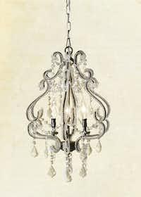 The Valentina chandelier ($499.95)