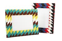 Green and Red Geo Print frame, $15 in JC Penney stores and online at jcp.com