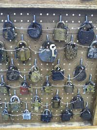 There's at least one collector for almost everything vintage. Vintage and antique locks, such as the selection at Buchanan's Vintage Market, appeal to primarily male collectors.