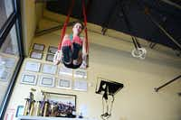 Brooklin said she found that CrossFit training encompasses elements of sports she enjoys, like gymnastics, volleyball and basketball. CrossFit is a high-intensity fitness program that incorporates various exercises into one workout.Rose Baca - neighborsgo staff photographer