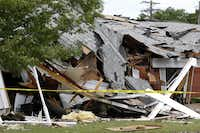 Damage to the West Rest Haven nursing home from the fertilizer plant explosion was extensive.