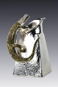 On display in Puebla, Mexico, as part of the exhibit Artistry: Silver and Design in Mexico, 1880-2012