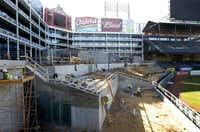 The ballpark renovations are very much a work in progress, but team officials say everything will be ready to go by opening day in April.