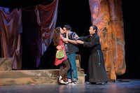 J (Mimi Davila, Ruben Carrazana, Rodney Garza)in Cara Mia production