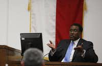 Dallas Mayor Dwaine Caraway took the stand Tuesday and said that when he was interviewed by a police investigator at his home Jan. 2, he didn't know he was being tape-recorded.