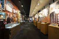 The Johnny Cash Museum in Nashville, TN, has interactive stations where visitors can hear various tracks recorded in formats from 78 record to digital download.