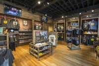 The gift shop at the newly opened Johnny Cash Museum located at 119 Third Avenue South, Nashville, TN.