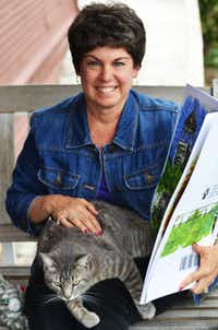 One of the things that Chester the cat does for Chestnut Square is travel to schools to tell the story of the historic village and help children learn about the importance of embracing the past ways of life in the community. Chestnut Square Historic Village education director Terri Monk, of McKinney, uses an oversized version of Chester's book to let the children in area schools marvel at the illustrations and the interesting life that this personable feline friend leads. Chester travels to schools too. He's a busy cat.
