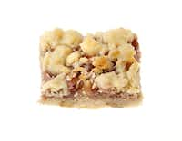 Second place, Bar category: Coconut-Pecan Raspberry Bars by Sue Rainey