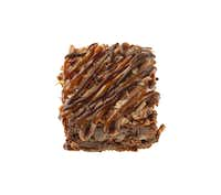 Third place, Bar category:: Coco-Nut Dulce de Leche Brownies by Brenda Bustillos