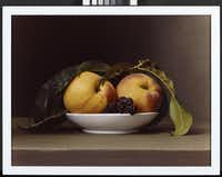 Sharon Core (b. 1965); Peaches and Blackberries; 2008; Dye coupler print; Amon Carter Museum of American Art, Fort Worth, Texas, Purchase with funds provided by Nenetta C. Tatum and Stephen L. Tatum; P2008.27