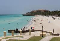 The gorgeous white beaches of the Varadero, about 85 miles east of central Havana.Joy Tipping  -  Staff