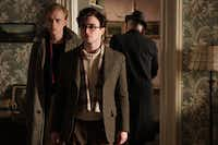 """""""Kill Your Darlings"""" stars (from left) Dane DeHaan  and Daniel Radcliffe."""