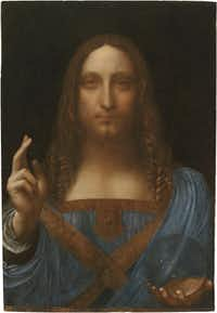 """Anderson has said the museum would like to acquire the celebrated Leonardo da Vinci painting """"Christ as Salvator Mundi."""""""
