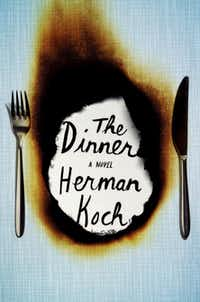"Book jacket of ""The Dinner,"" by Herman Koch"