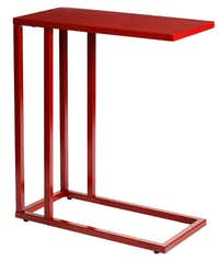 Reinvented classic: The small-scale, affordable C-Table can be tucked in a corner, pulled up to the bed or a chair for dining in or used as a laptop rest. $49 each at the Container Store and containerstore.com.Evans Caglage - Staff Photographer