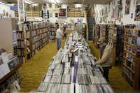 Neighborhoods on the edge of Denton, close to Lake Ray Roberts, came in third for empty nesters in an analysis by The Dallas Morning News. Downtown Denton is home to Recycled Books.Ian C. Bates - Staff Photographer
