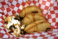 Golden Fried Millionaire Pie was among the selections at the Big Tex Choice Awards on Monday in Dallas.