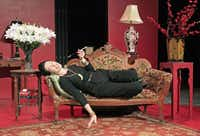 The character of fashion icon Diana Vreeland played by Diana Sheehan in Full Gallop, a one-woman show at WaterTower Theatre in Addison, Texas on Tuesday, August 5, 2014.Brad Loper  -  Staff Photographer