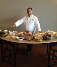 Chef Johnathan Gelman shared his recipe for cranberry orange bundt cake.Staff photo by DEBORAH FLECK
