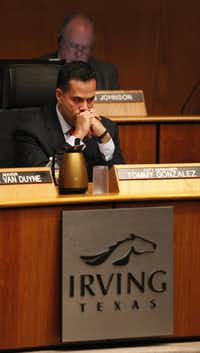Irving City Manager Tommy Gonzalez last week voluntarily waived his contract's automatic renewal clause moments before the Irving City Council was poised to end it.