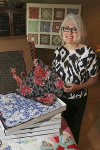 Dallas attorney Susan Patterson collects, adores and re-sells old and new handkerchiefs.