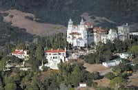 """This Oct. 23, 2006 photo shows """"La Cuesta Encantada,"""" The Enchanted Hill, the legendary home now best known as Hearst Castle, built by publishing tycoon William Randolph Hearst in San Simeon, Calif."""