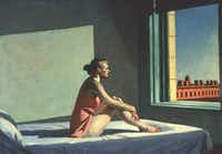 Morning Sun, 1952 Edward Hopper Oil on canvas, 28 1/8 x 40 1/8 in. (71.4 x 101.9 cm) Columbus Museum of Art; Howald Fund Purchase