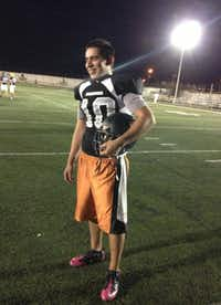 Raul Parra, the Jaguares quarterback, was shot three times in the leg in the 2010 massacre. Two teammates died.