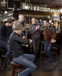 Live traditional music is a popular lure in many Dublin pubs.