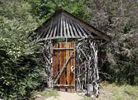 The entrance to the Majestic Oak Treehouse at Savannah Meadows, an eco-tourism lavender farm in CelesteSonya Hebert-Schwartz - Staff Photographer
