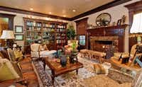 Another view of one of the home's living areas.Steve Reed