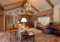 One of the home's cozy living areas.Steve Reed