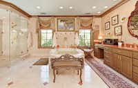 A view of the home's master bedroom.Steve Reed