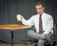 """Dallas actor Brandon Simmons starred in Will Scheffer's 1999 play """"Falling Man,"""" a touching series of monologues by gay characters.Ron Heflin  -  Special Contributor"""