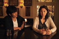 Actors Kazuki Kitamura and Ayako Fujitani in the film Man From Reno, directed by Dave Boyle. The film is one of 39 to be screened in the 13th annual Asian Film Fesival of Dallas.