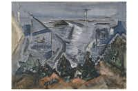 Composition, Cape Split, Maine, No. 2 by John Marin;  1933; oil on canvas