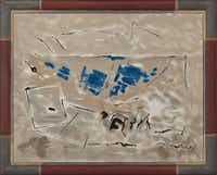 John Marin (1870-1953)  Movement: Grey and Blue, 1952  Oil on canvas