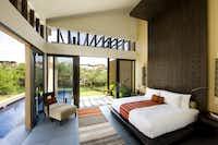 A courtyard villa with private pool at Banyan Tree Mayakoba