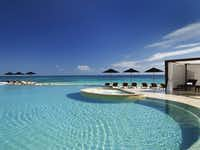 Rosewood Mayakoba's beachfront pool
