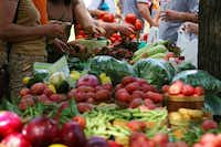 One of the area's best farmers markets sets up Saturday mornings at Chestnut Square in downtown McKinney.