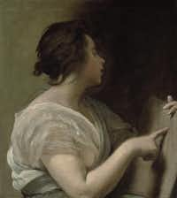 Sibyl With Tabula Rasa by Diego Velázquez at the Meadows Museum